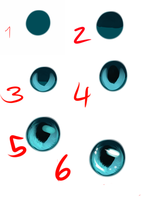 Fast Eye Tutorial by cacahuate16