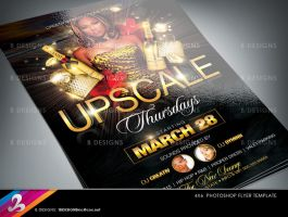 Upscale Party Flyer Template by AnotherBcreation