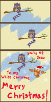 Snow to My Christmas by ThisIsNotanOwl