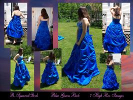 Blue Gown Pack. by B-SquaredStock