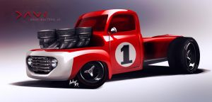 Dave's UNO Ford by Adry53