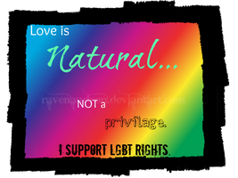 Love is Natural by ravenaudron