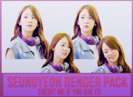 Seungyeon Render Pack  by Know-chan