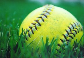 Softball - Series Print 1 by asnowy