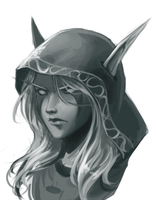 Sylvanas by Blackfang9