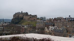 Edinburgh Castle from Museum Roof by WestLothian