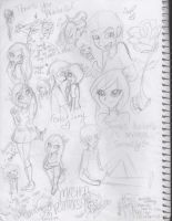 .:Ferbella Sketchies and Whatnot:. by Orthgirl123