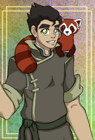 Avatar: Legend of Korra - Bolin + Pabu - Fanime12 by gyakuten-no-megami