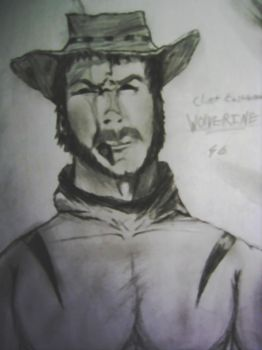 Clint as Wolverine by spiderson5000