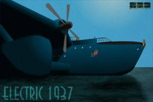 Electric 1937 PinUp 'Big Jane' by cachaca835
