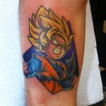 Goten Tattoo by Hamdoggz