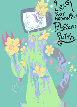 {PASTEL GORE} [Omega Flowey] ~Blooming~ by CrazyIsBack