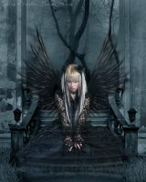 Gothic Angel by Caroline-Vampire