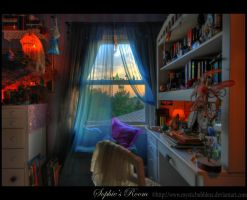 Sophie's Room by little-spacey