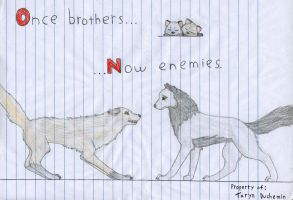 Once brothers now enemies by da-bestest-chibi