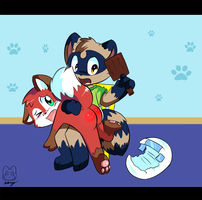 Spanking Time by RonaldMcCoon