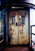 Ostrava lift door by Dogbytes