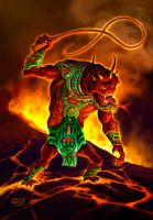Fire Colossus: THE WHIPMASTER by benitogallego