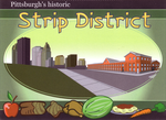 Pittsburgh's Historic Strip by LoranJSkinkis