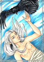 ACEO 05 - This One by WeeverWolf
