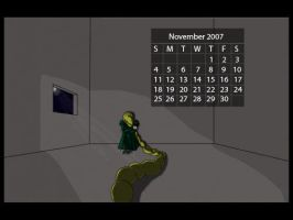 Calendar Project: November by Divinity-bliss