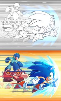 Sonic the Hedgehog 275 Cover by herms85