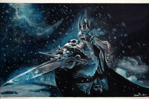 Arthas - The Lich King by ankkutza