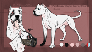 STS Dog- Riddick RETIRED by ShockTherapyStables