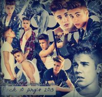 Justin Bieber Pack PNG+Photoshoot TeenVongue 2013 by MiluBiieber