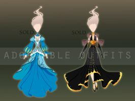 (Closed) Dresses design adoptables - Auction by fantazyme