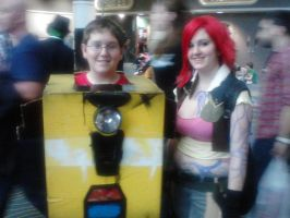 Lil and Claptrap by Agent-Eli