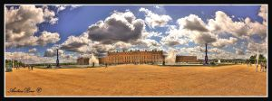 Sky above Versailles by andreareno