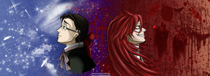 Mister Grell Sutcliff by nosabakudeidara