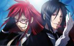 grell and sebastian wallpaper by journeylove123
