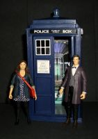 Doctor and Clara by CyberDrone