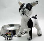 Tache the French Bulldog 3D Cross Stitch by rhaben