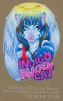 IndigoAngelCat badge by guyver47