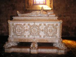 Grave in cathedral by Amersss
