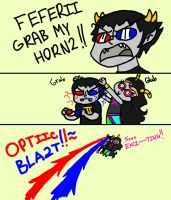 Grab My Horn2 by ScruffyPalmTrees