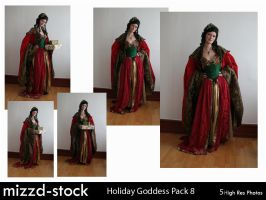 Holiday Goddess Pack 8 by mizzd-stock