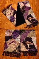 Crazy Quilt Scarf by Rurouni-Elf