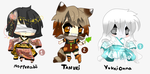Folklore of Japan - Adoptables set1 - CLOSED by Ayuki-Shura-Nyan