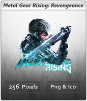 Metal Gear Rising Revengeance - Icon by Crussong