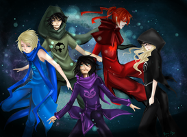 Fankids Session Homestuck ((commission)) by YwiiOax
