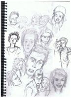 Ten Sketches by KPS-forvever