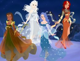 The Four Elements (Snow Queen scene maker) by Arimus79
