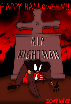 Nightman of the Living Dead by soryukey