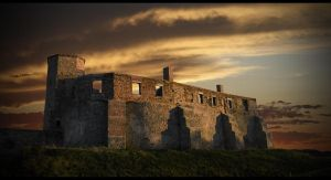 Siewierz Castle Pano by afron