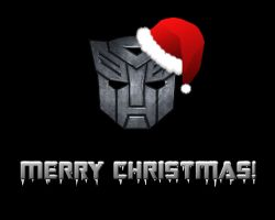 Transformers Christmas by Xagnel95