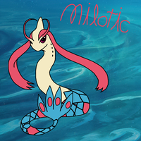 Milotic by Helkie-three